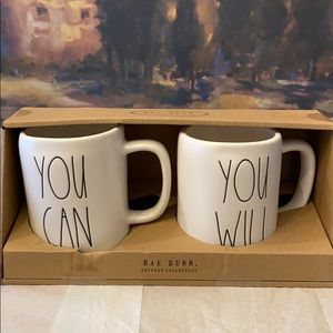 RAE DUNN Artisan Collection mugs